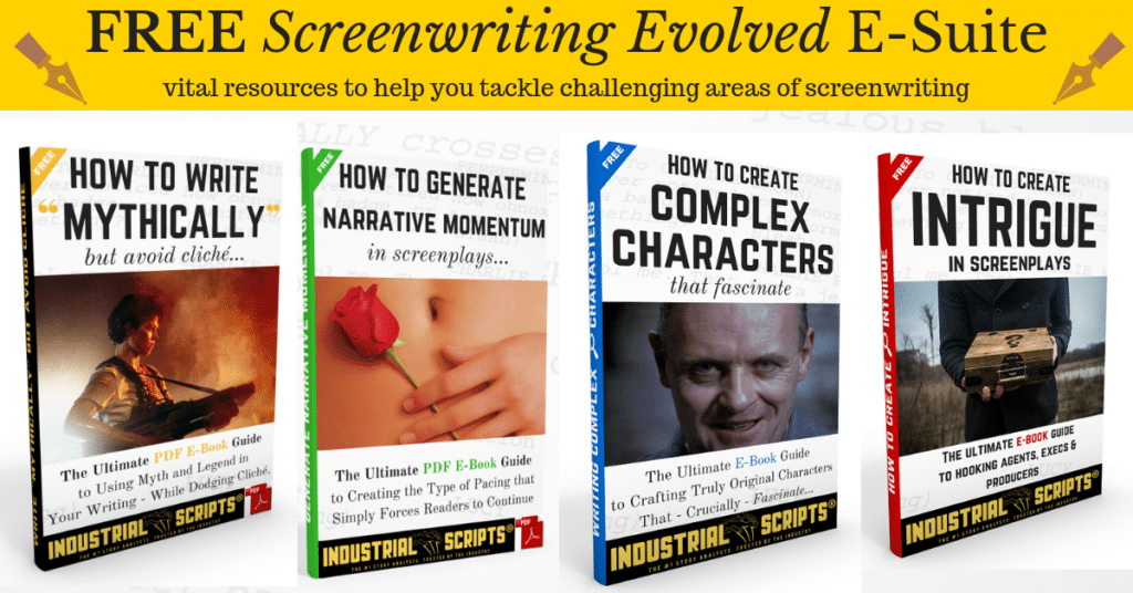 Industrial Scripts Screenwriting Newsletter: Free Screenwriting Evolved E-Suite.
