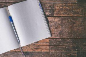 Scriptwriting - Blank Page