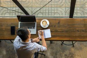 Scriptwriter Working