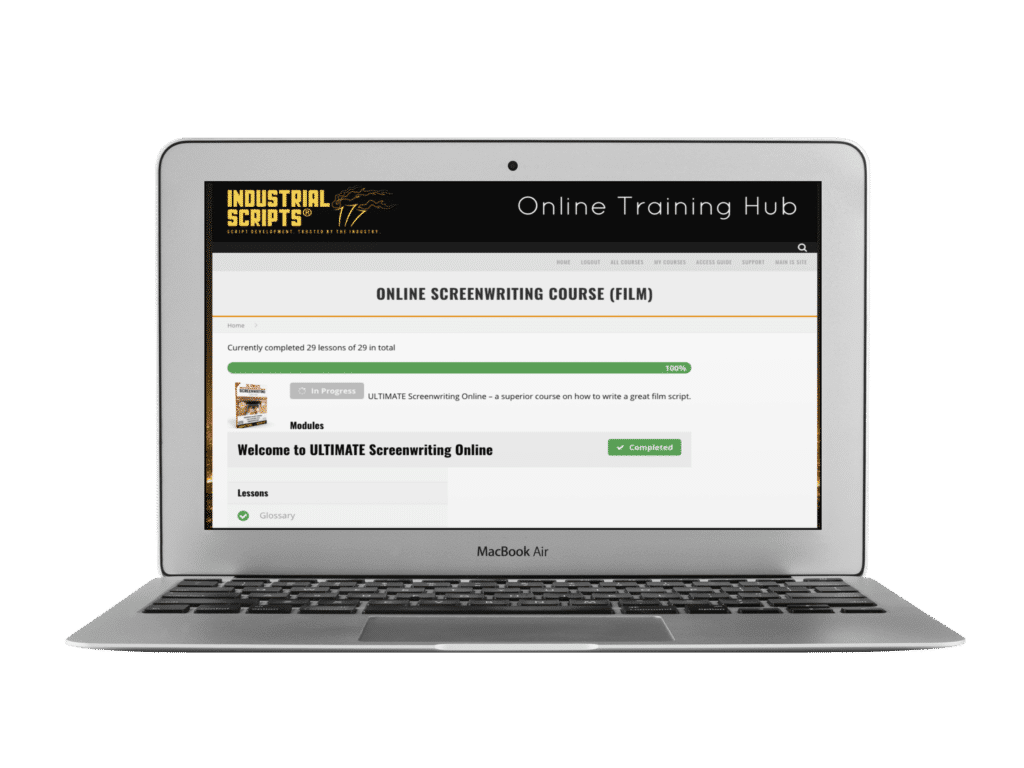 Online Screenwriting Course