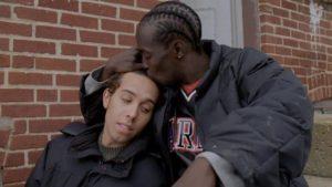 Omar Little and Boyfriend
