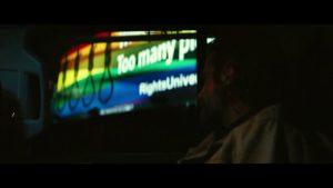 Jackson Maine Rainbow Noose Billboard Foreshadowing
