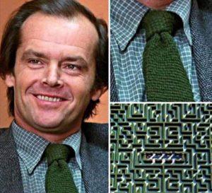 Jack Torrance Green Tie Maze Foreshadowing