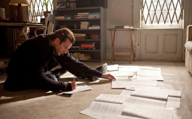Bradley Cooper Writing First Draft