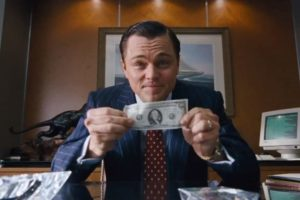 Wolf of Wall Street Fourth Wall Breaking