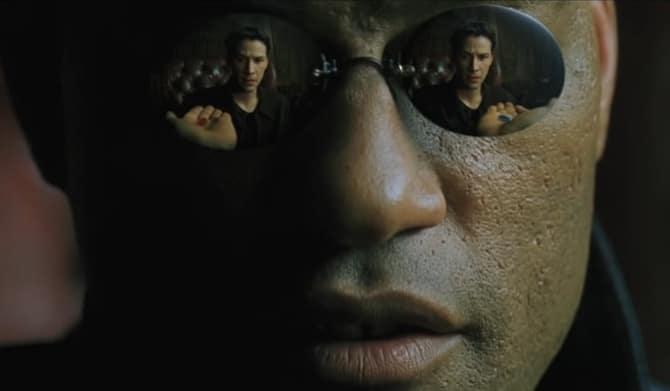 Matrix Exposition - Morpheus and Neo