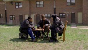 The Wire Chess Scene