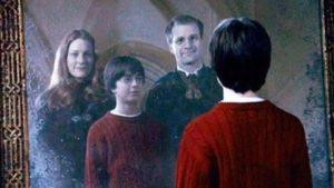 Harry-Potter-Visual-Metaphor Mirror of Erised