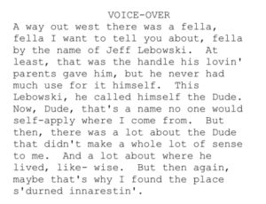 Big-Lebowski-Voice-over-Narration-Intro