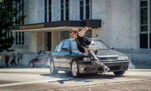 Baby Driver Car Chase Scene
