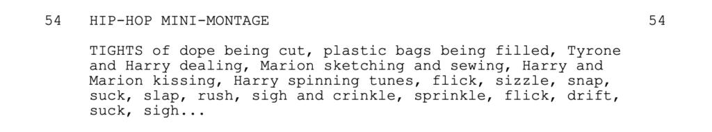 Requiem For A Dream - Montage Example