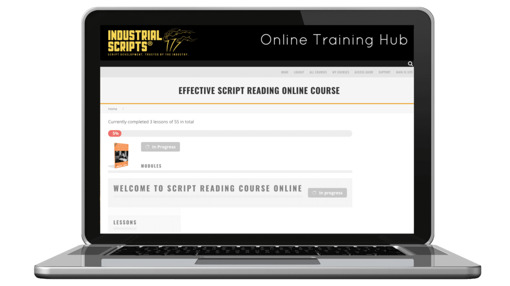 effective script reading course online