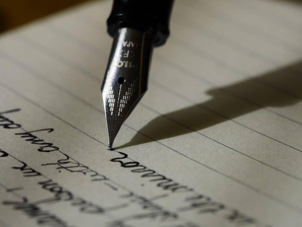 scriptwriting 101 - pen to paper
