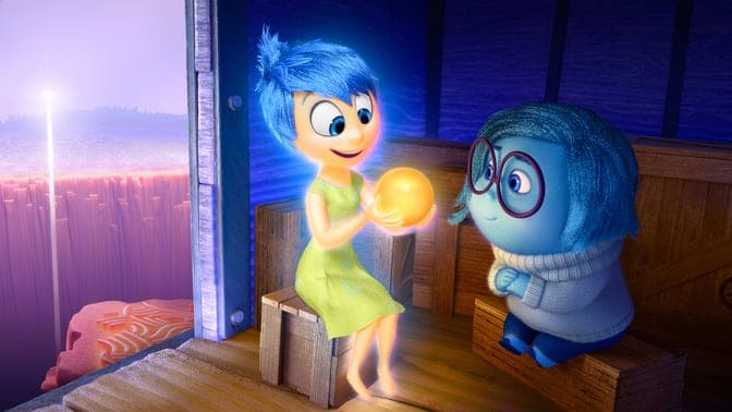 Inside Out Animated Film Script