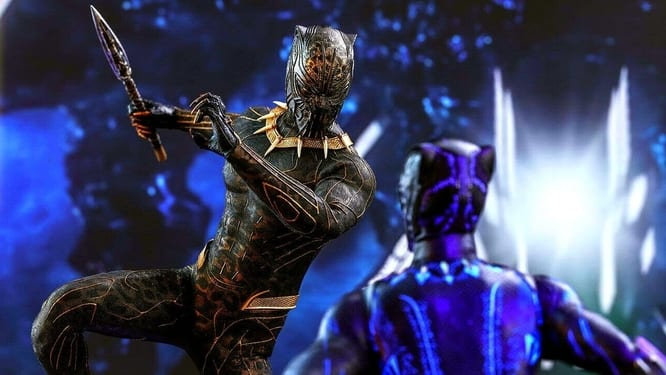 Black Panther Fight Scene