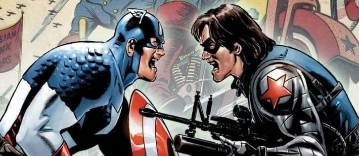 Captain America Comic Book Fight Scene