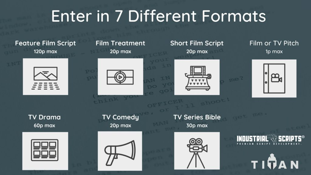 screenwriting contest format types
