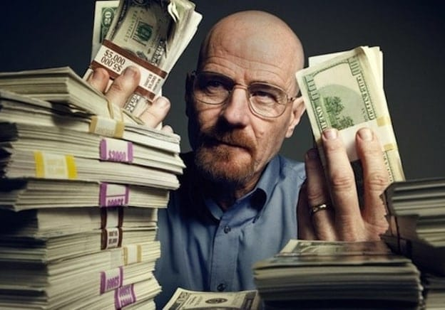 Walter White Creating Characters