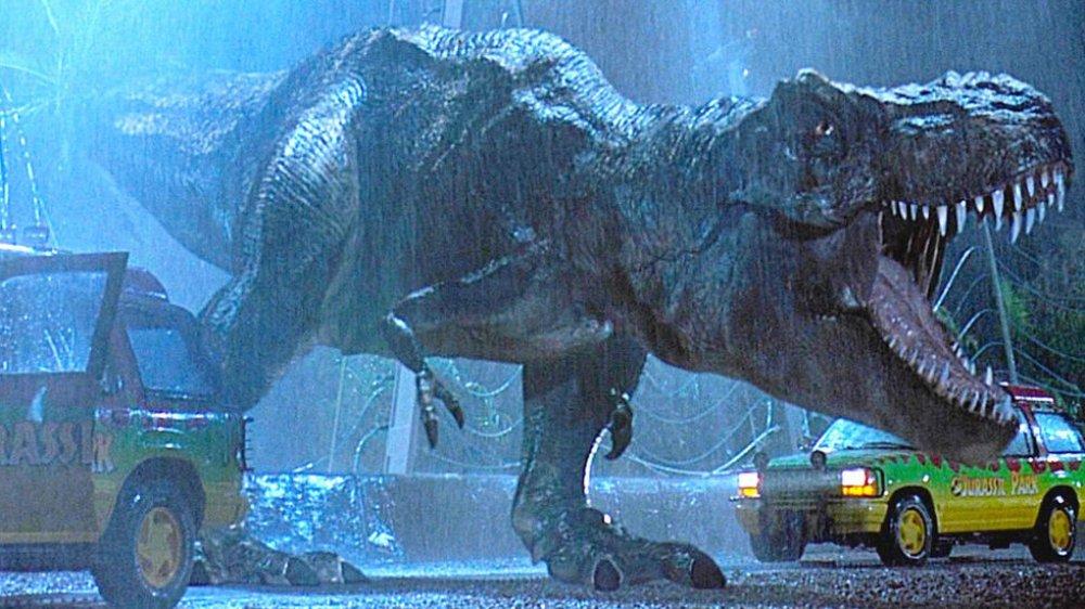 Jurassic Park Tense Scene
