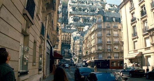 Dream sequences: folding city