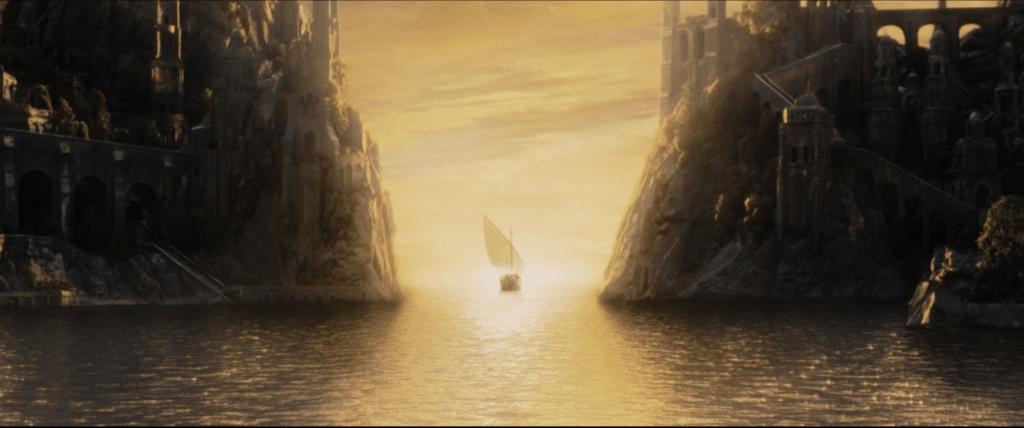 story endings: lord of the rings
