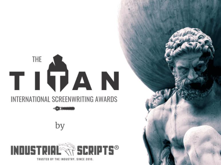 The TITAN Screenwriting Contest banner