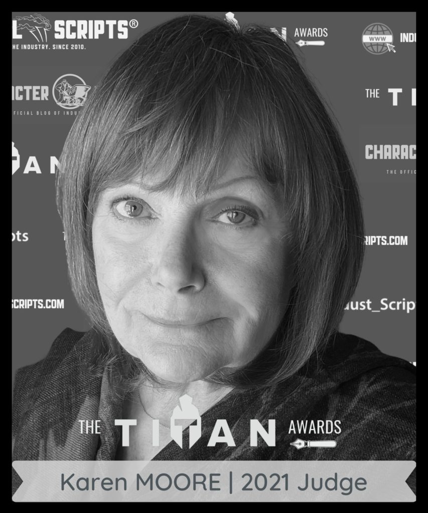 Karen Moore TV and film producer and judge of the 2021 TITAN screenwriting contest