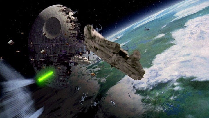 Return of the Jedi Final Battle