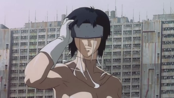 Ghost in the Shell AI in Movies