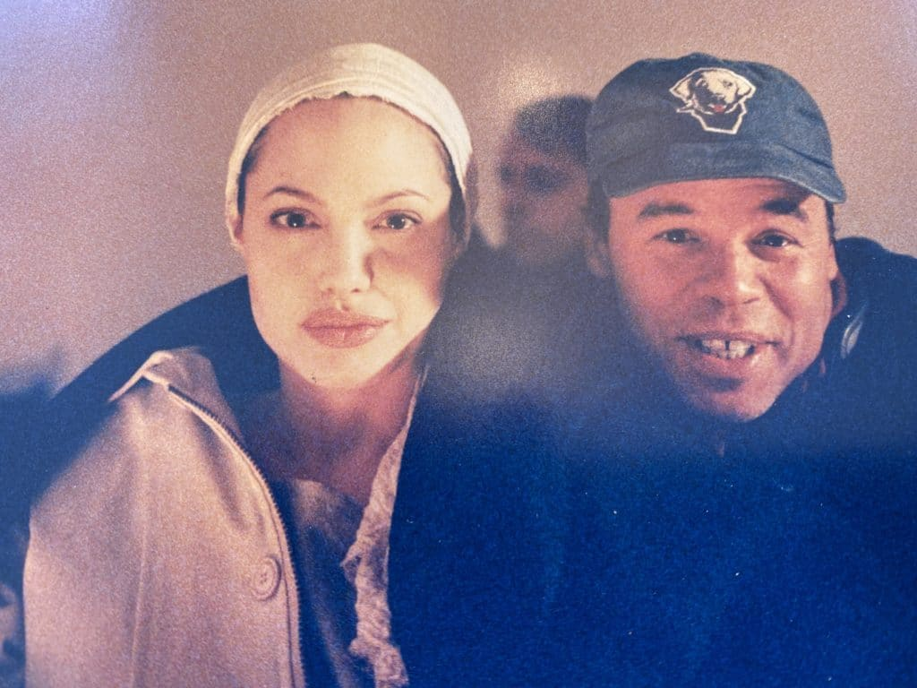 ed mcdonnell and angelina jolie