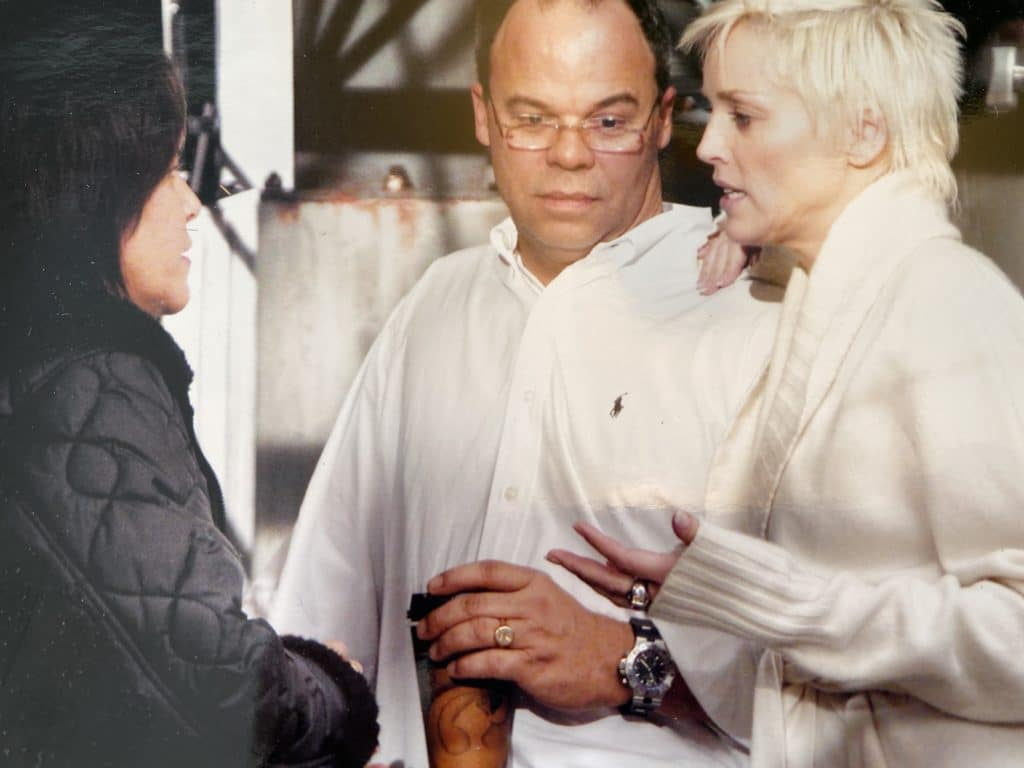 ed mcdonnell and sharon stone