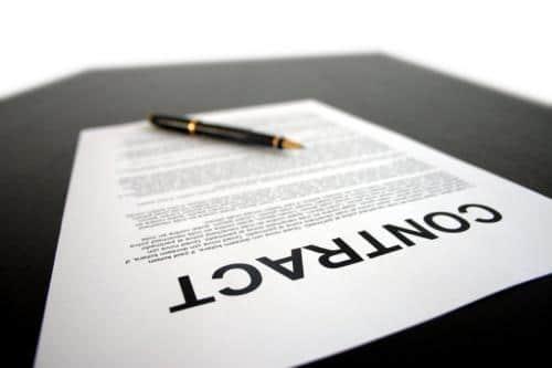 Screenwriting Contract