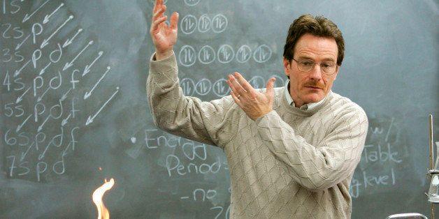 Walter White Chemistry Teacher