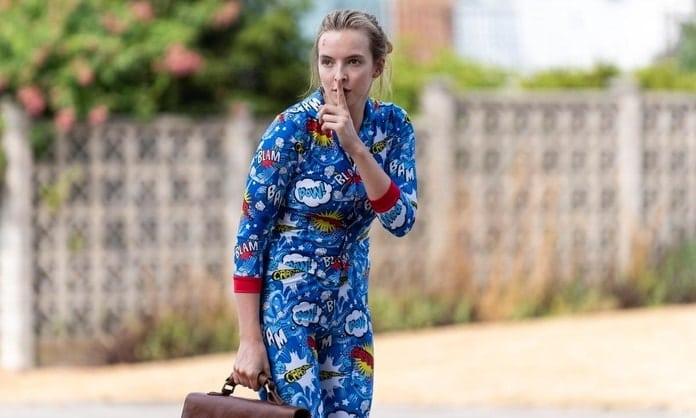 killing-eve-pyjamas Dramedy