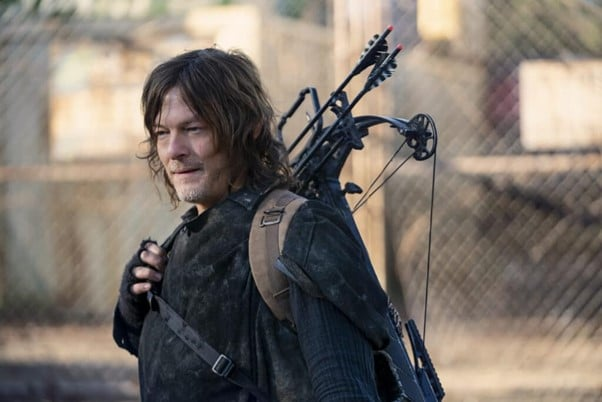 Daryl Dixon with crossbow