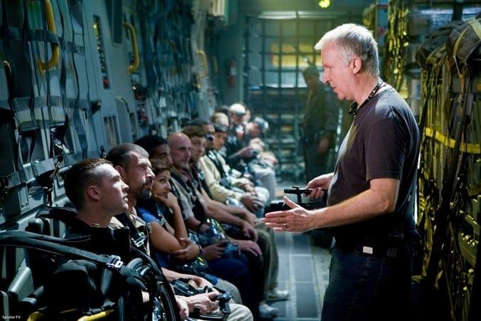 James Cameron Directing Avatar