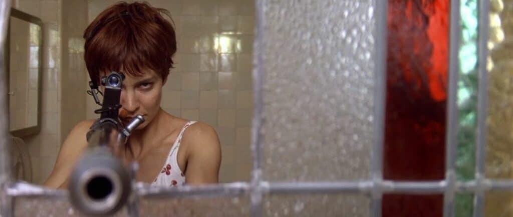 Nikita at window 1990