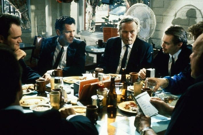 Resevoir Dogs - Dialogue Between Multiple Characters