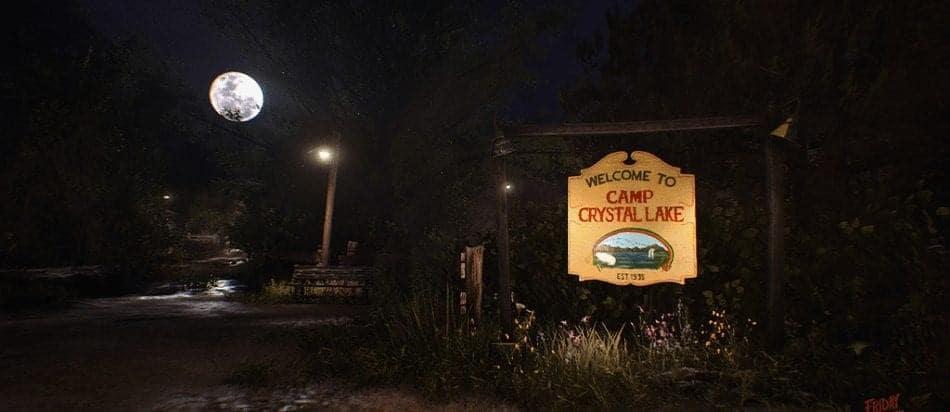 Camp Crystal Lake Entrance