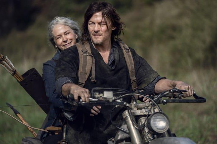 Daryl Dixon and Carol
