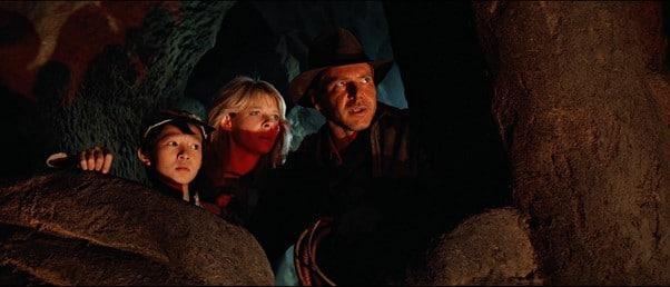 Indiana Jones, Willie Scott and Short Round