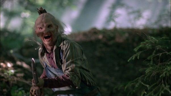 Slasher movie Wrong Turn's Main Villain Three Finger.