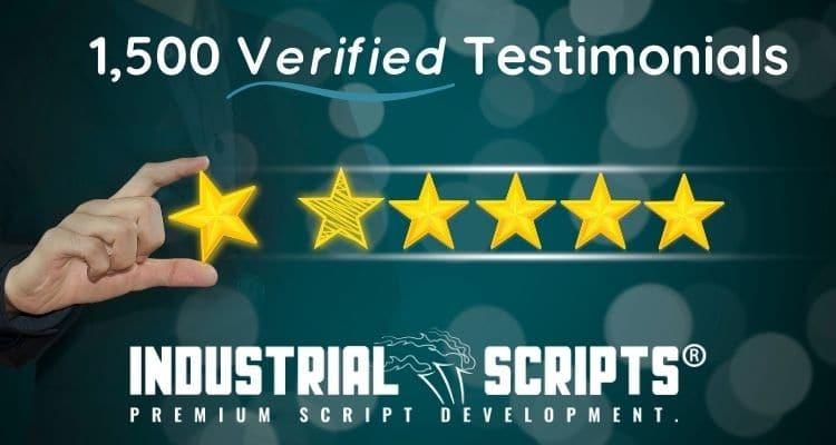 Industrial Scripts reviews verified