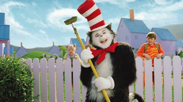 The Cat in the Hat with Sally and Conrad.