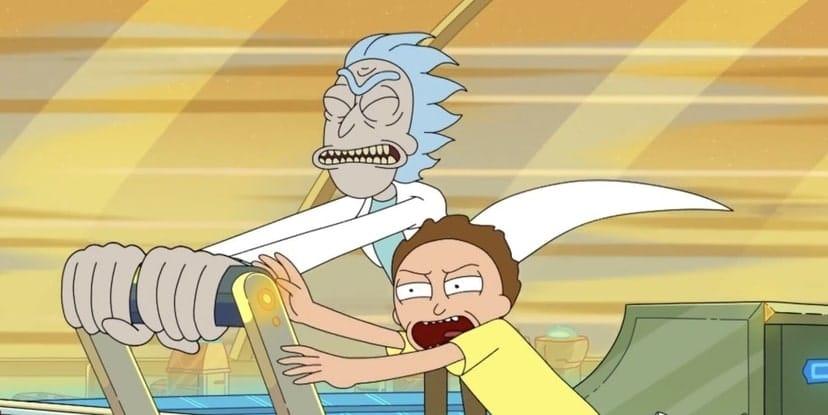 Rick and Morty Story Circle